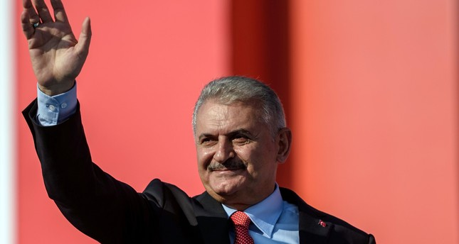 Gülen will come to Turkey and pay for what he did, says Yıldırım at Istanbul  democracy rally