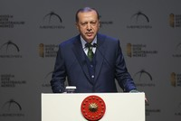 The Muslim world is the target of numerous plots to reshape it to the benefit of others, President Recep Tayyip Erdoğan warned Saturday.