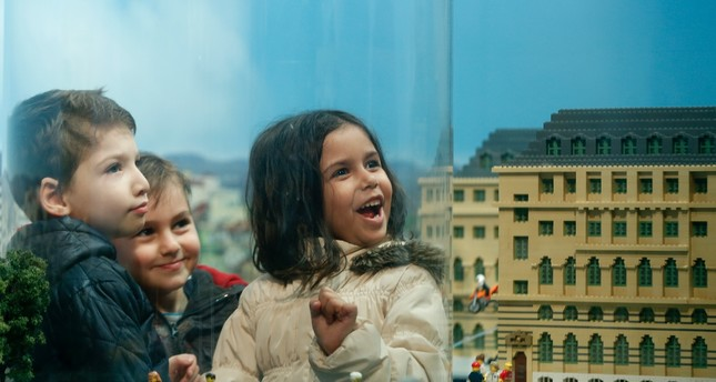 Children spend great time discovering Legoland in Istanbul.