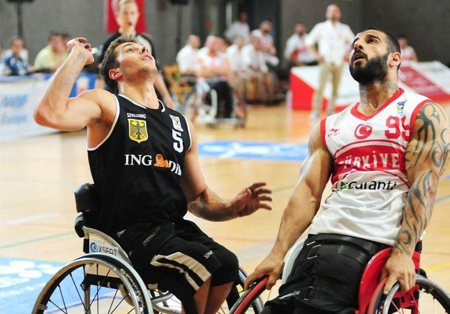 Turkey vs Britain in European Wheelchair Basketball final