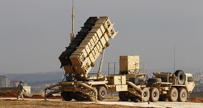 This file photo shows a U.S. Patriot missile system at a Turkish military base in Gaziantep on Feb. 5, 2013. (Reuters Photo)