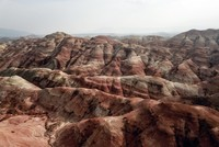 Радужные холмы в Турции очаровывают любителей природы