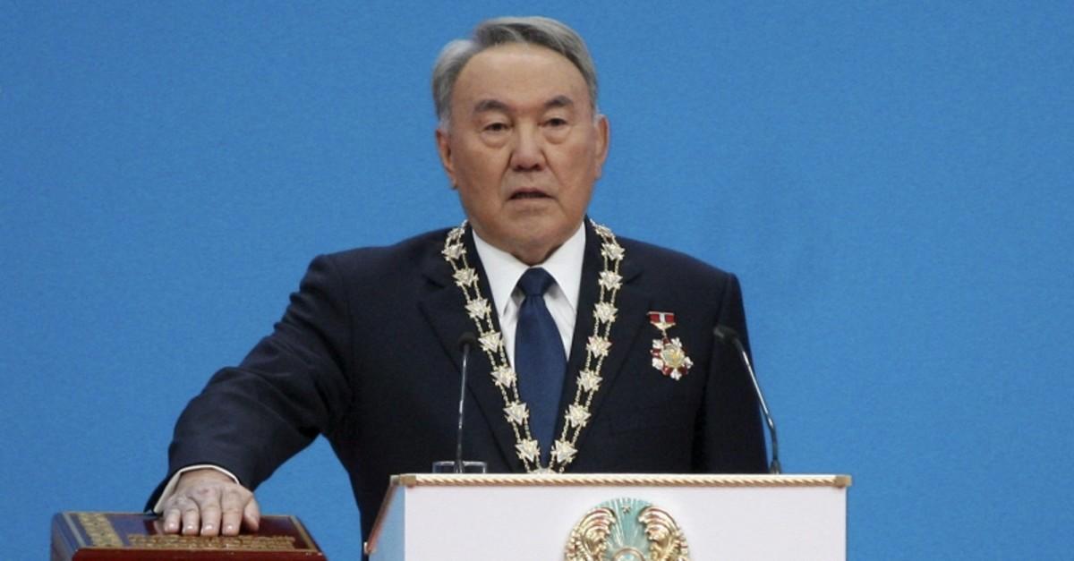 Kazakhstan's President Nursultan Nazarbayev attends his inauguration ceremony in Astana, Kazakhstan, April 29, 2015. (Reuters Photo)