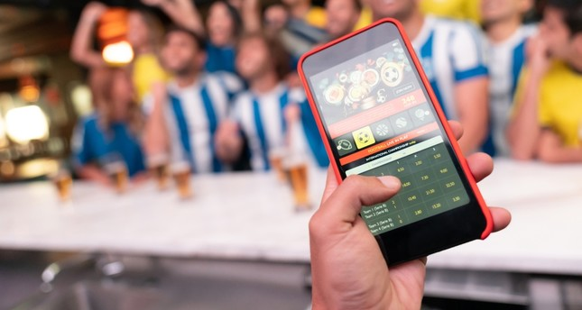 Most viewers follow match statistics live on a smartphone or a tablet computer.