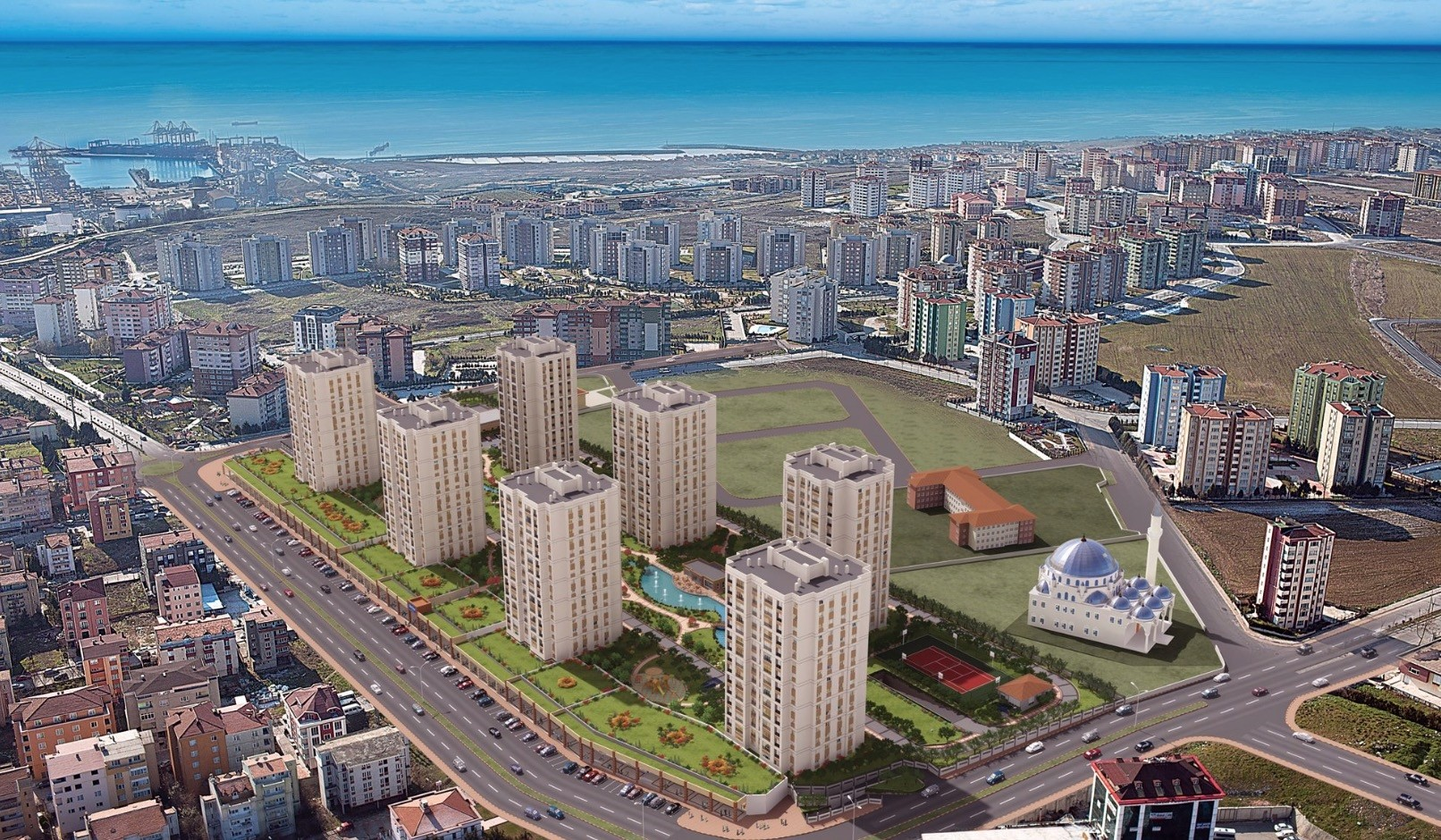 Foreigners bought 39,663 properties in Turkey last year, up from 22,234 units in 2017.