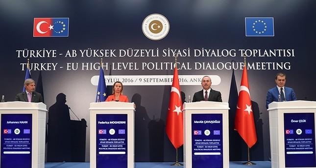 وفد الاتحاد الأوروبي يؤكد على أهمية شراكة تركيا وأنقرة تطالب بفتح فصول جديدة للمفاوضات