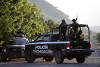 At least 13 officers killed by gunmen in Mexico