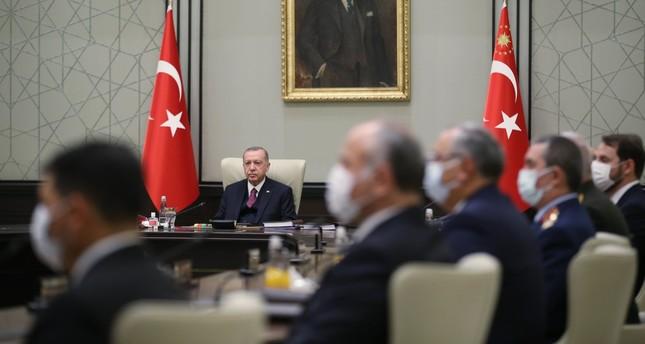 مجلس الأمن القومي التركي يدعم الحوار لتقاسم ثروات شرق المتوسط