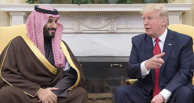 ترامب يلتقي الأمير محمد بن سلمان في أول لقاء له مع مسؤول سعودي رفيع