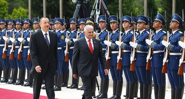 يلدريم يصل أذربيجان في ثاني زيارة رسمية له الى الخارج