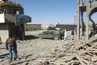 Taliban suicide attacks on police headquarters kill, injure dozens in Afghanistan