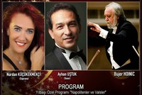 New Year enthusiasm on Bursa Regional State Symphony Orchestra stage