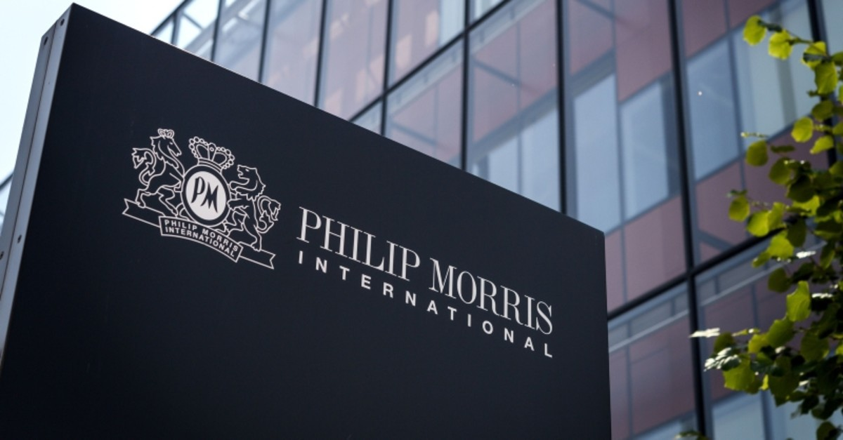 This file photo taken on August 21, 2018 shows the research and development campus of cigarette and tobacco manufacturing company Philip Morris International, in Neuchatel, western Switzerland. (AFP Photo)