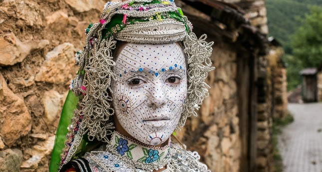 Traditional bridal makeup in Kosovo intrigues tourists, academics