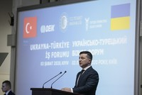 الرئيس الأوكراني يدعو الشركات التركية للاستثمار في بلاده