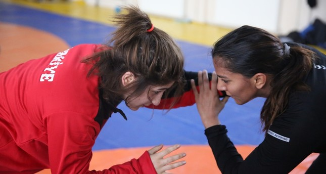 Geeta Phogat of 'Dangal' trains in Turkish wrestling center