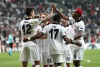 Beşiktaş beats Sarpsborg in UEFA Europa League match