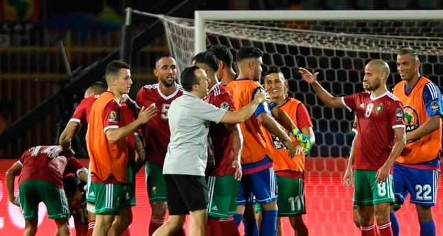 أمم إفريقيا 2019: المغرب الى ثمن النهائي بهدف النصيري ضد ساحل العاج
