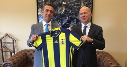 Public diplomacy or playing sides? British envoy says he supports Fenerbahçe