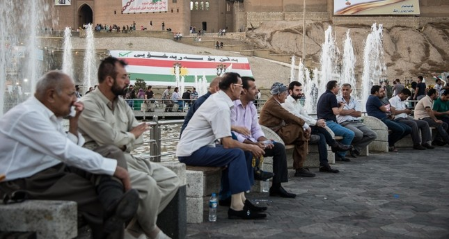 The people of the KRG appear to be stuck between emotions and raw reality.