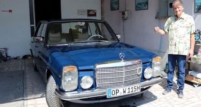 ألماني يقطع آلاف الكيلومترات لطلاء سيارته في تركيا