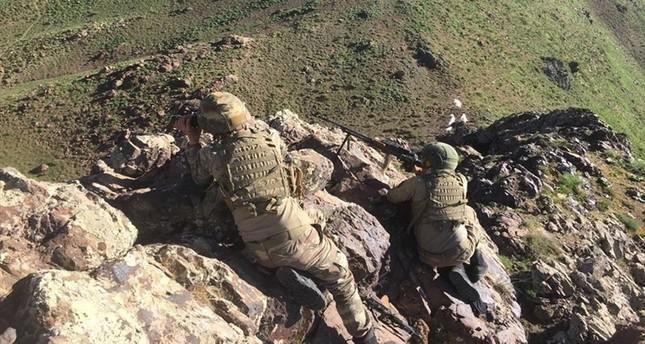 5 PKK terrorists neutralized in northern Iraq