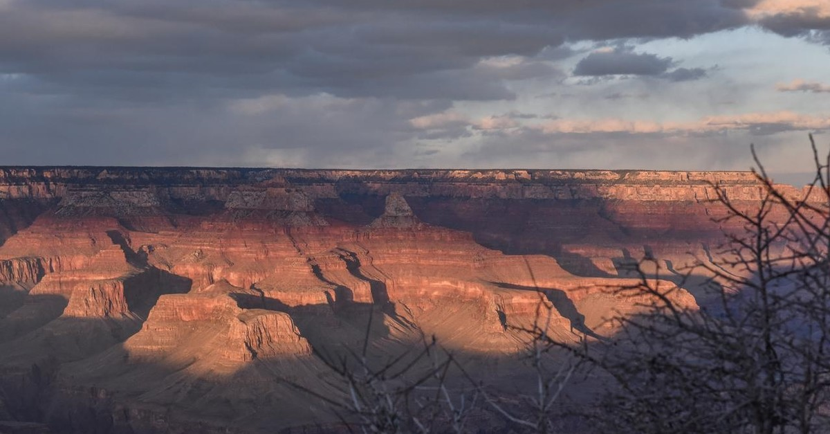 The Grand Canyon is seen from the South Rim near Grand Canyon Village, Arizona, U.S., February 22, 2018 (Reuters Photo