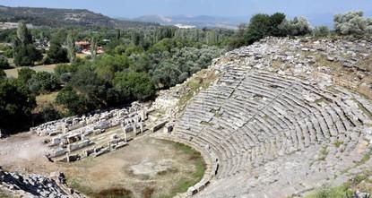'City of gladiators' in western Turkey's Muğla draws tourists