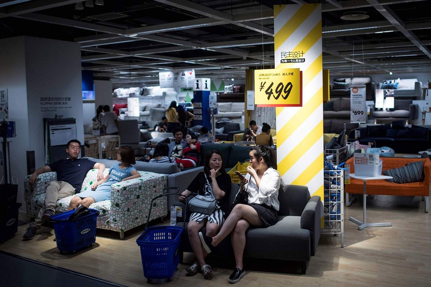 Ikea serves as new home for Chinese shoppers in summer heat