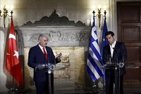 Turkey, Greece need constructive approach in bilateral relations, PM Yıldırım tells Tsipras