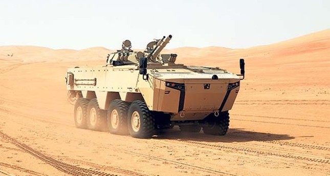 Otokar to sell armored vehicles worth $661M to UAE