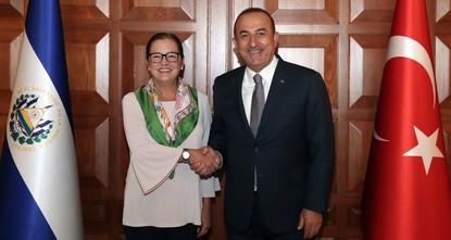 وزيرة خارجية السلفادور: نريد تعزيز علاقاتنا مع تركيا وسنفتتح سفارة في أنقرة قريباً