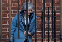 UK PM May suffers another loss in Brexit amendments vote