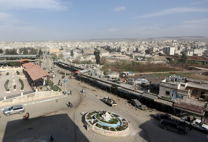 A general view of the city of Afrin, Syria (Reuters File Photo)