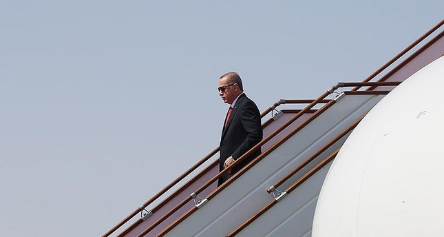 أردوغان يصل نيويورك للمشاركة في اجتماعات الجمعية العامة للأمم المتحدة