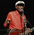 Chuck Berry in rock 'n' roll style in posthumous song