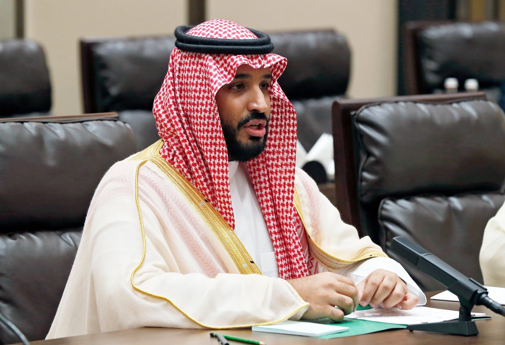 Prince Mohammed bin Salman of Saudi Arabia during the G20 Summit in Hangzhou, China, Sept. 4, 2016.