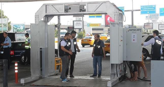 مطار أتاتورك باسطنبول يعزز إجراءاته الأمنية