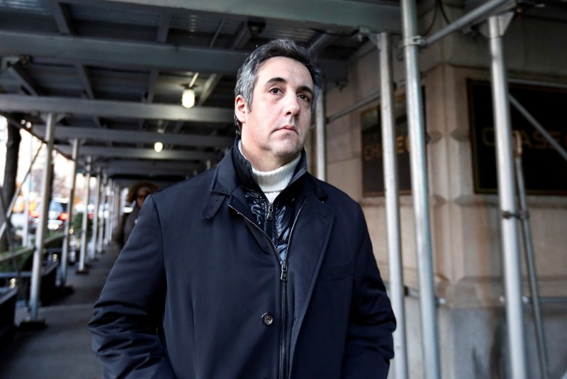 Michael Cohen, former lawyer to President Donald Trump, leaves his apartment building on New York's Park Avenue, Friday, Dec. 7, 2018. (AP Photo)
