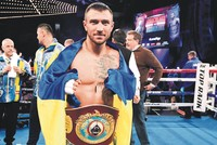 Vasyl Lomachenko retained his WBO super-featherweight title with a sixth round technical knockout of Guillermo Rigondeaux in New York City, the impressive Ukrainian handing the Cuban-born American...