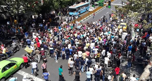 تظاهرات جديدة في جنوب غرب إيران احتجاجاً على تلوث المياه