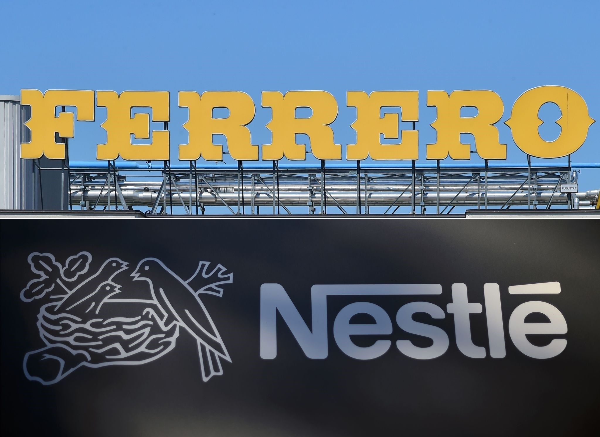 Italy's Ferrero is closing in on a $2.8-billion deal for Nestle's US confectionary business. (AFP Photo)
