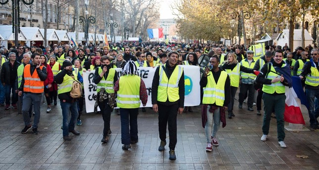 The yellow vest revolt in France over the high cost of living has sparked copycat protests worldwide.