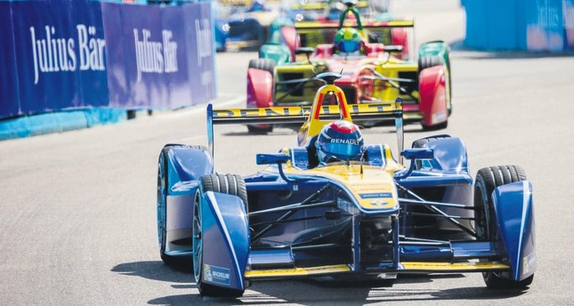 The very first Formula E race was held in Beijing in September 2014.