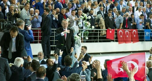 أردوغان يعلن أبرز النقاط بالبرنامج الانتخابي لحزب العدالة والتنمية