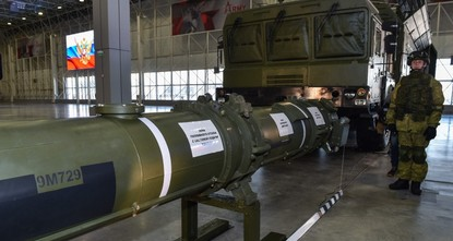Russia denies missile violates nuke treaty with US