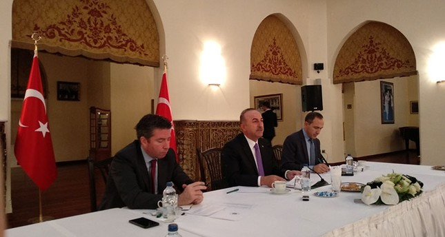 FM Çavuşoğlu: US, Russia in a race to use YPG terrorists