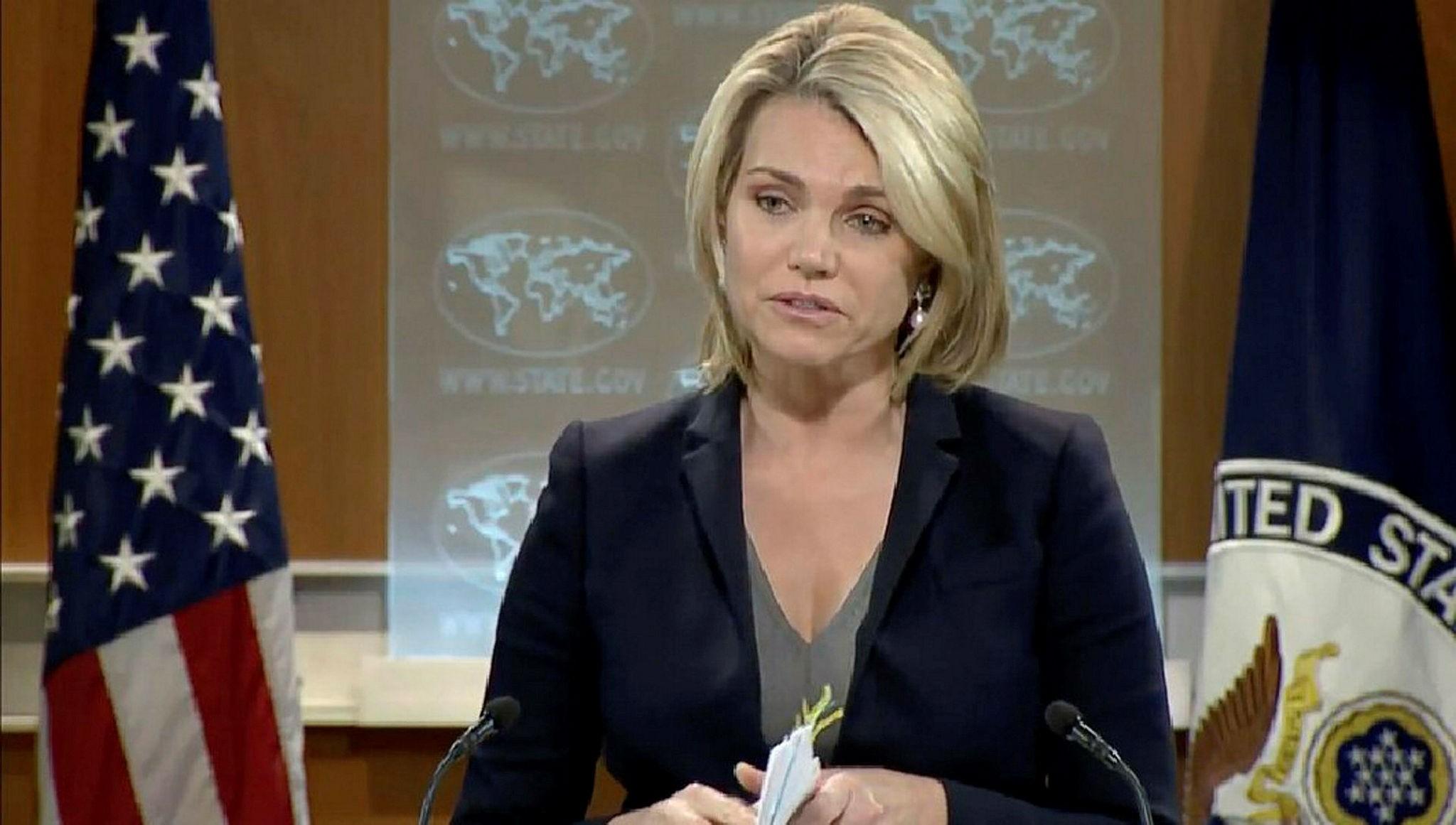 Spokesperson Heather Nauert (File Photo)