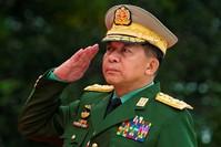 Главнокомандующий армии Мьянмы старший генерал Мин Аунг Хлайн. (Фото: AFP)