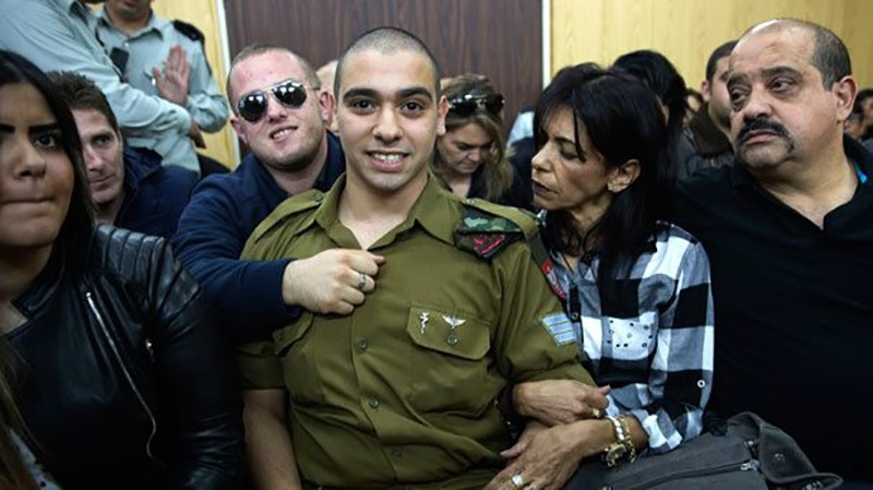On Nov. 19, Israel's President Reuven Rivlin's turned down a pardon request for Elor Azaria, who is serving a 14-month jail term for killing an incapacitated Palestinian assailant. (Sabah File Photo)